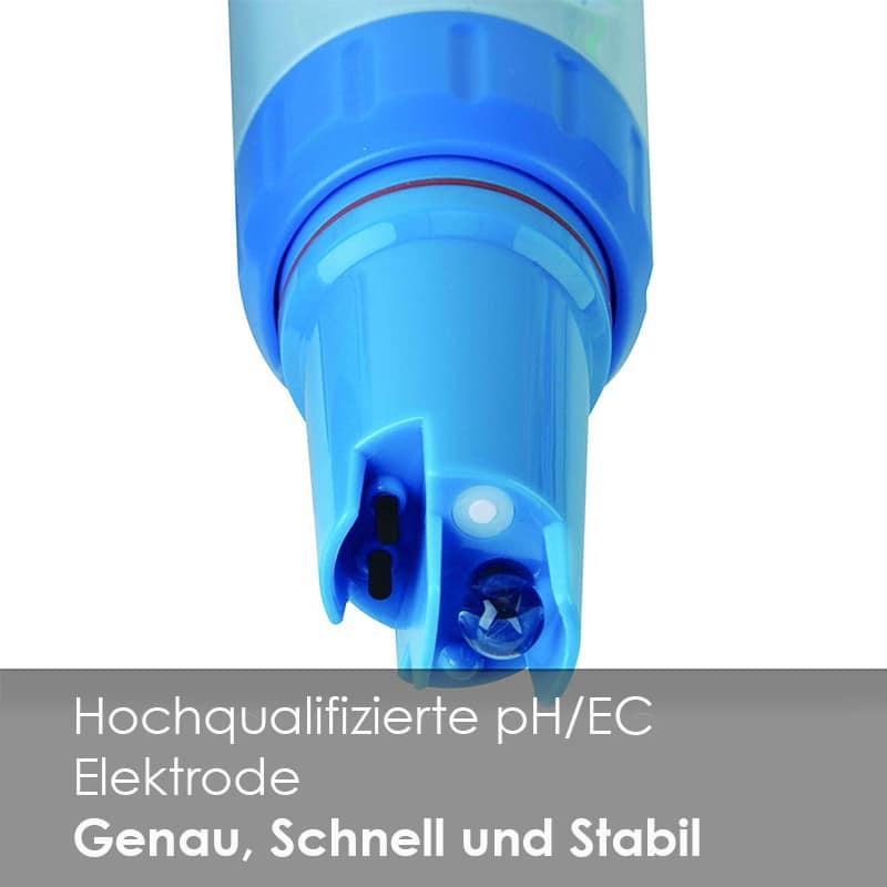 Werbung für PC60 Elektrode