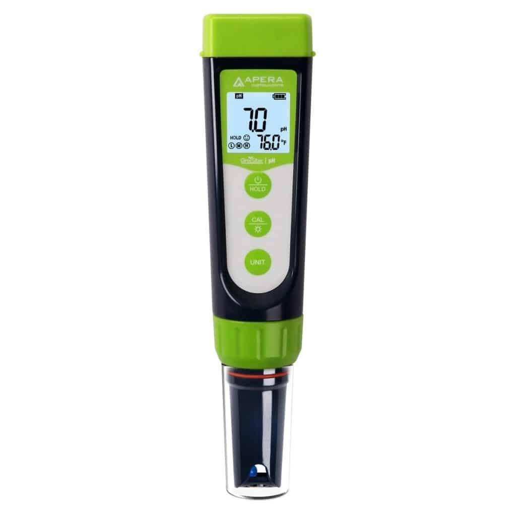GroStar™ GS4 pH-/EC-Taschen-Kombimessgerät