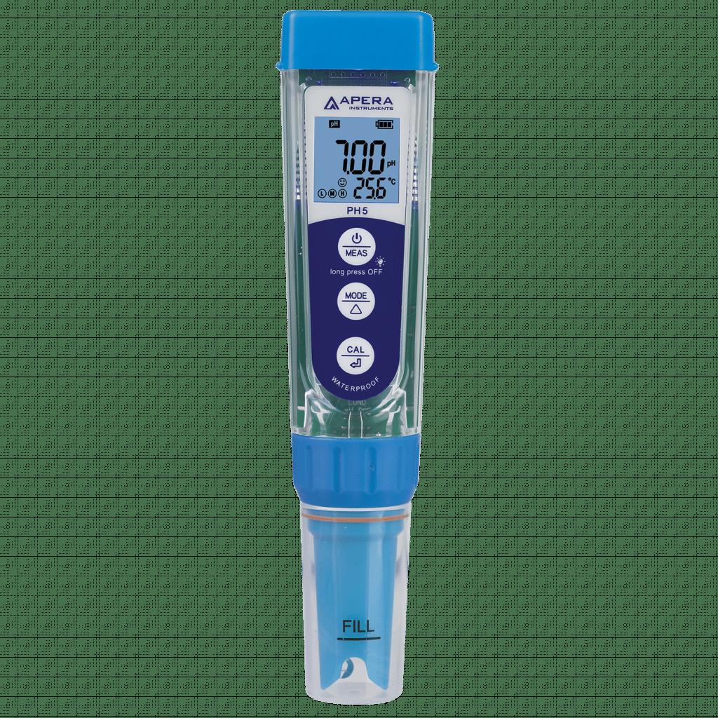 PH5 Premium Taschen-pH-Messgerät